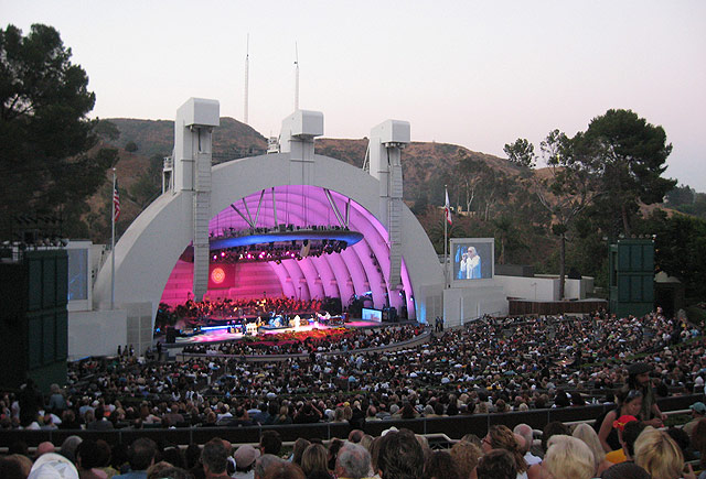 Best parking options for hollywood bowl