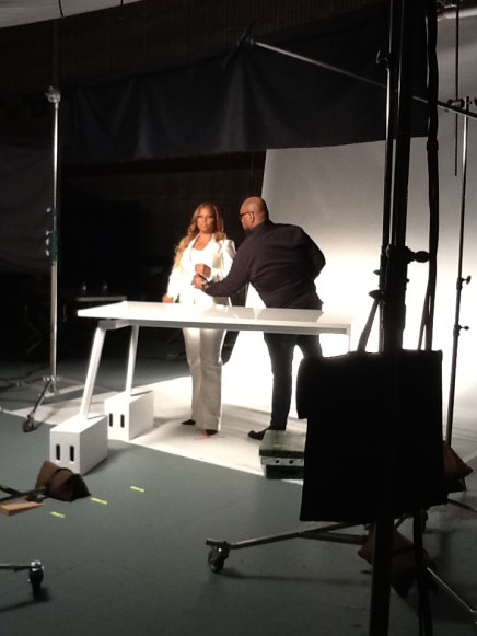A Day In The Life – The Queen Latifah Cover Girl Shoot