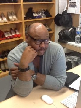 Timothy at QL computer