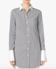 michael-kors-striped-cuff-shirt